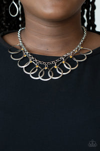 Drop By Drop Yellow Necklace