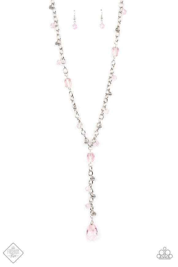 Afterglow Party Pink Necklace