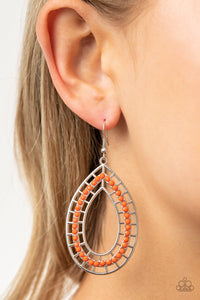 Fruity Fiesta Orange Earrings