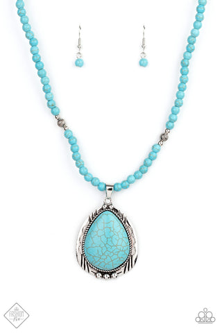 Evolution Blue Turquoise Necklace