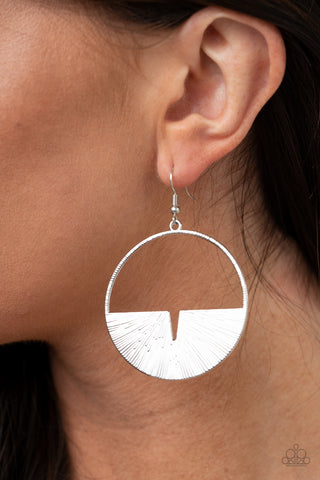 Reimagined Refinement Silver Earrings