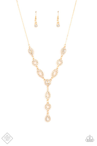 Royal Redux Gold Necklace