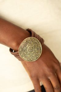 Treasure Quest Brass Urban Bracelet
