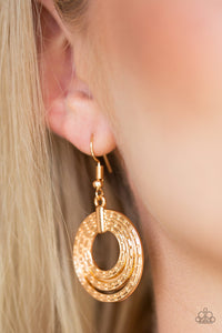 Open Plains Gold Earrings