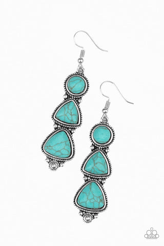New Frontier Blue Earrings