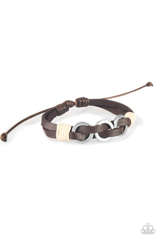 Off-Road Tourist Brown Bracelet
