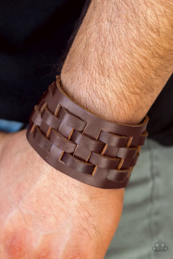 Road Hog Brown Bracelet