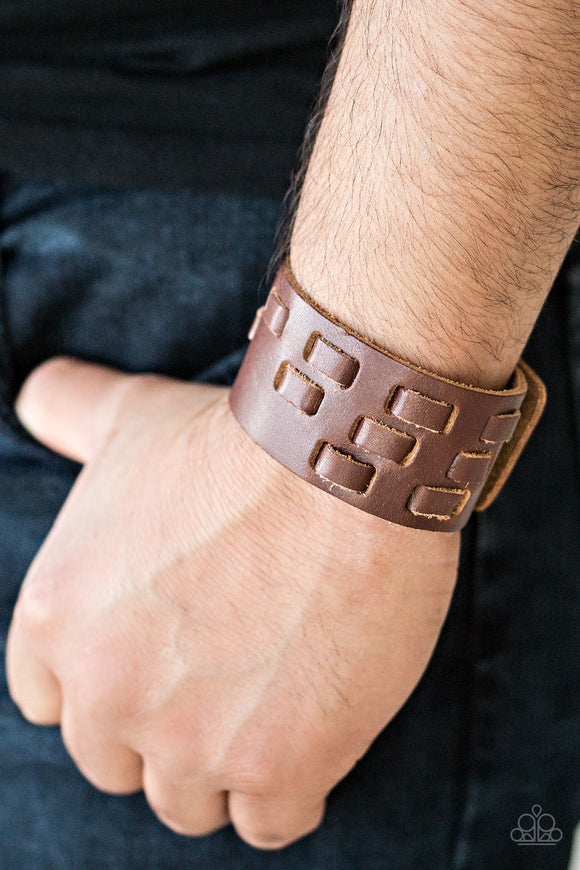 Rodeo Rampage Brown Bracelet