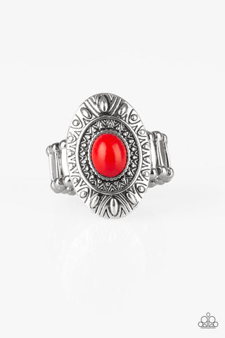 Stone Fox Red Ring