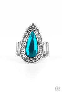 Majestic Mayhem Blue Ring