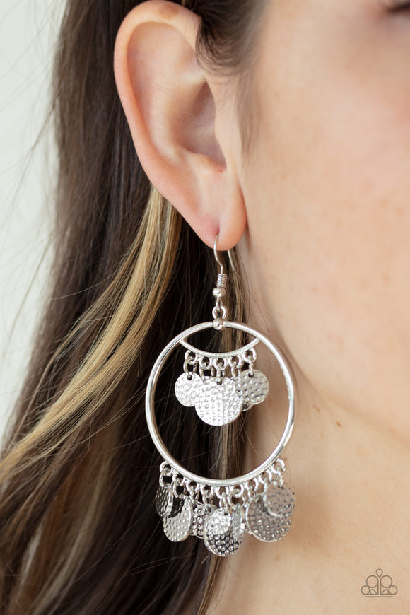 All CHIME High Silver Earrings