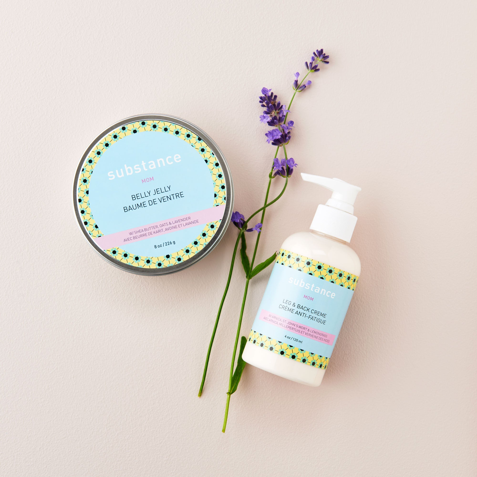 MOM PACK - Belly Jelly and Leg + Back Cream
