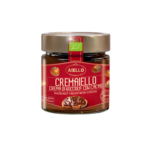 Cremaiello Hazelnut Cream with Cacao