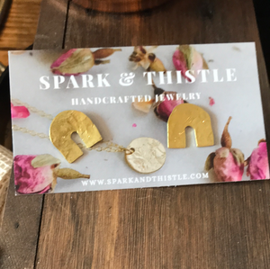 Spark & Thistle Earrings 1