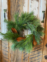 Load image into Gallery viewer, Wreath SMALL MOSS + THICKET Fresh PRE ORDER