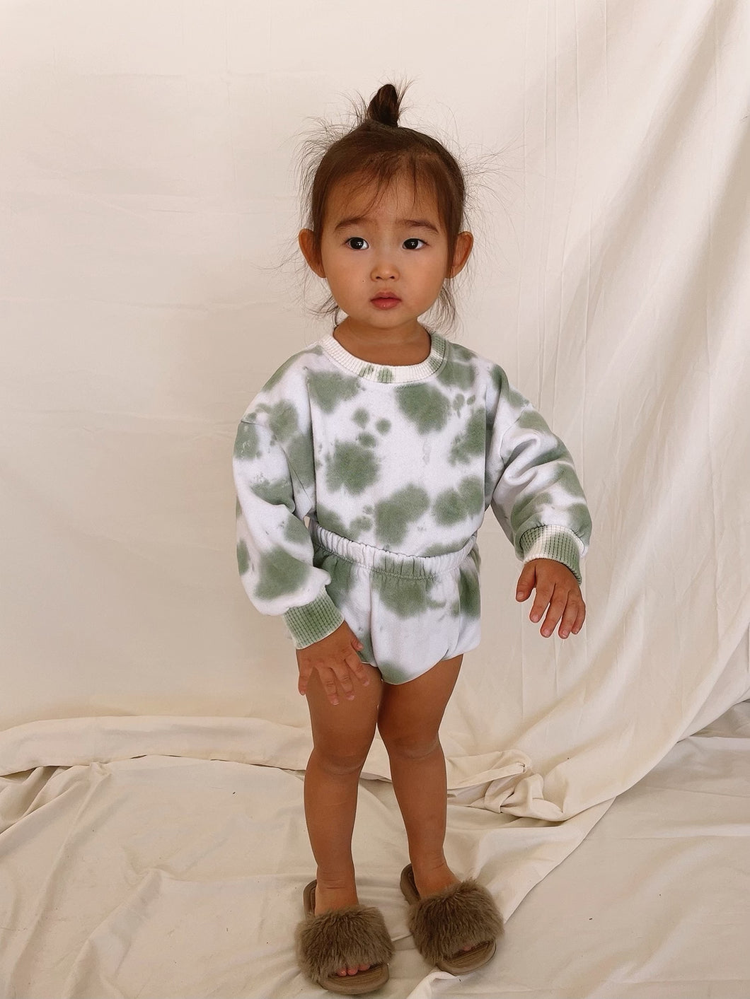 Baby Margot Bloomer Avocado Tie Dye