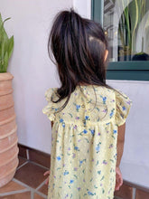 Load image into Gallery viewer, Daisy Girl Floral Dress Lemon