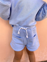 Load image into Gallery viewer, Byron Bay Unisex Kids Shorts Dawn Blue