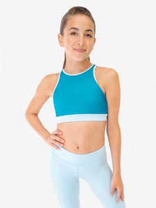 Capezio High Neck Bra Top and Leggings Set
