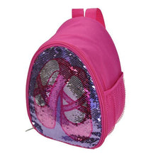 Load image into Gallery viewer, B222C Reversible Glitter Capezio Backpack