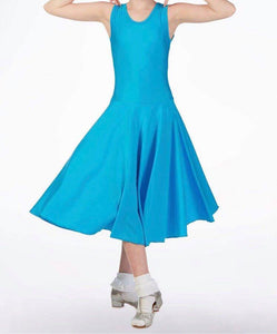 Sleeveless Ballroom Dress