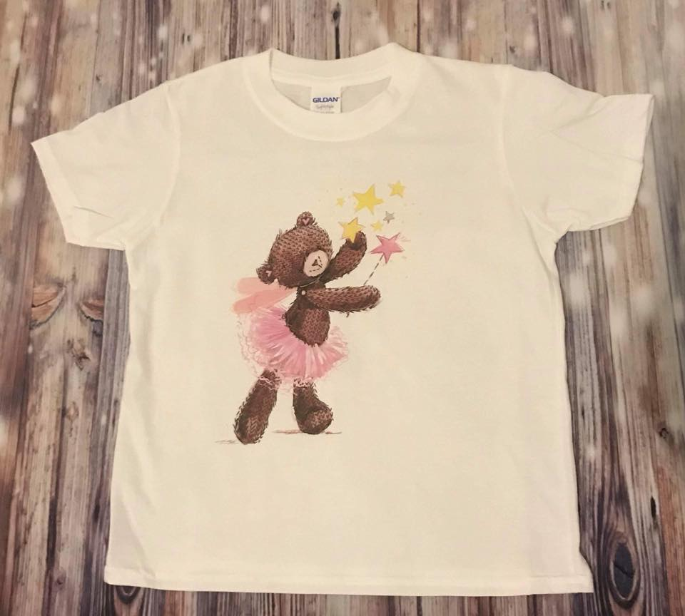 Dance T-shirt with a Ballrenina Bear Print