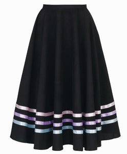 Character Skirt with 3 Rows of Ribbon