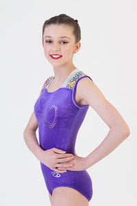 Sleeveless Gymnastic Leotard