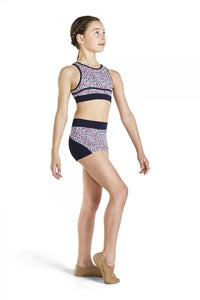 Bloch Dance Crop Top and Short Set