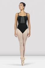 Load image into Gallery viewer, L4927 Ladies Vilette Zip Front Open Back Camisole Leotard