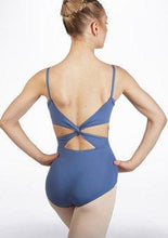 Load image into Gallery viewer, MC102 Camisole Leotard with Twist Back