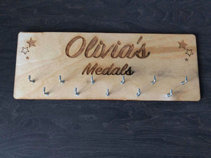 Personalised Medal Holders