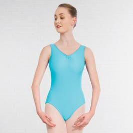 1st Position Helena Ruched Lined Leotard