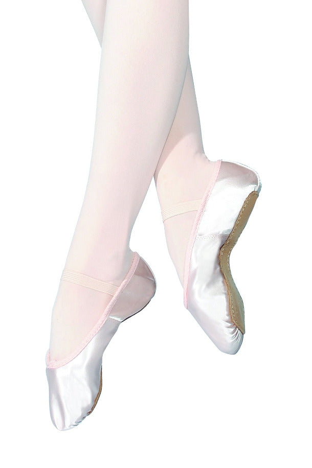 SS/S Satin Roch Valley Ballet Shoes