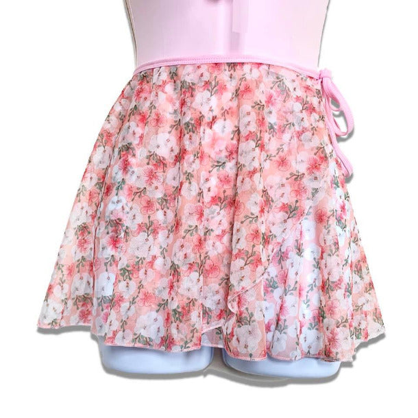 Aurora Tendu Floral Wrap Dance Skirt