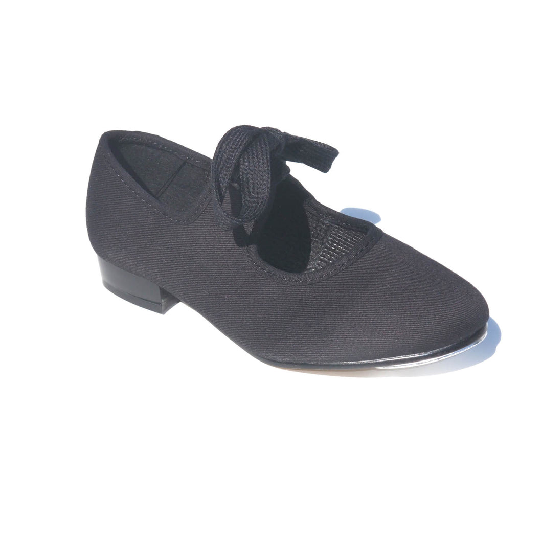 Canvas Tappers and Pointers Tap Shoe