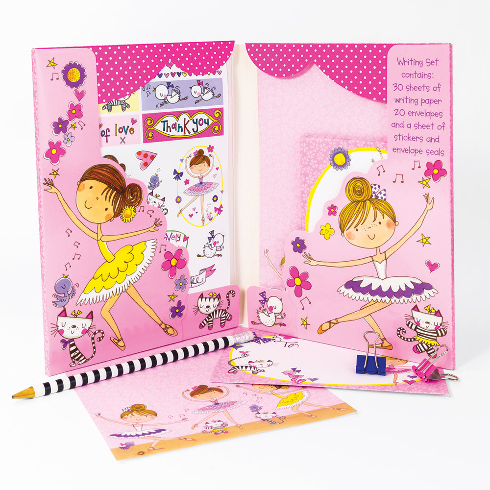Ballerina Writing Set Wallet