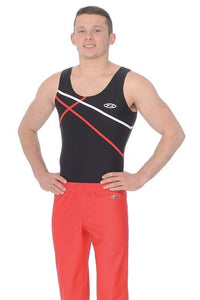 Z386 Sleeveless Boys Gymnastic Leotard