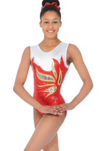 Load image into Gallery viewer, Sleeveless Gymnastics Leotard