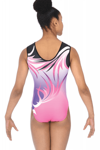 Faith Sublimated Gymnastics Leotard
