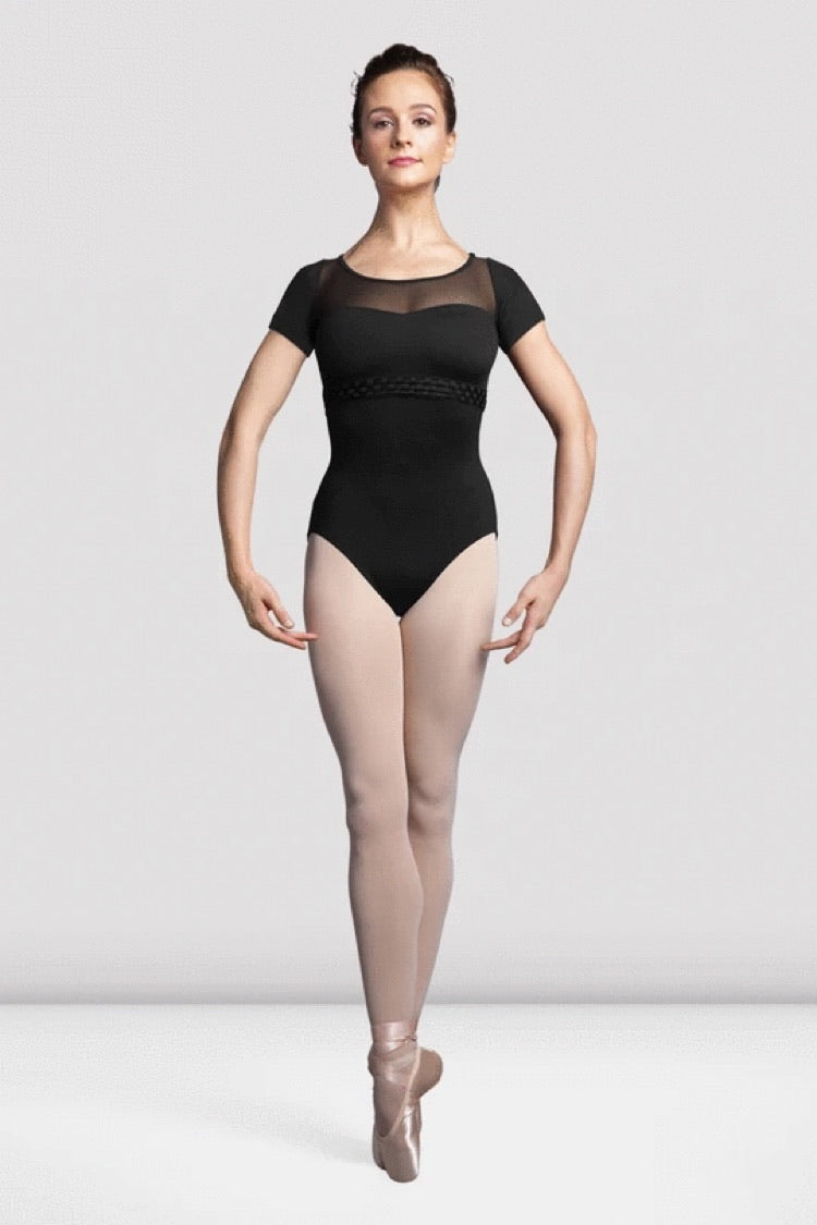 L3549 Ladies Vidalia Cap Sleeve Leotard