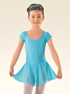 ISTD09 Ballet Voile Skirted Cap Sleeve Leotard