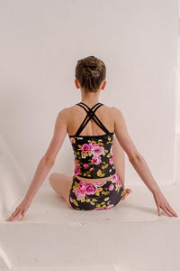 Painted Rose Hectic Midi Top and Briefs Sets
