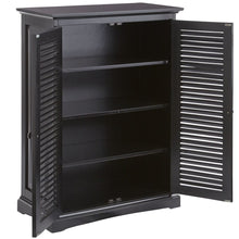 Load image into Gallery viewer, Plantation Storage Cabinet - Sheesham Black