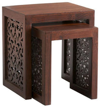 Load image into Gallery viewer, Maharaja  Sheesham  Nesting Tables