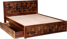 Load image into Gallery viewer, Prague Drawer Sheesham Wood Queen Drawer Bed
