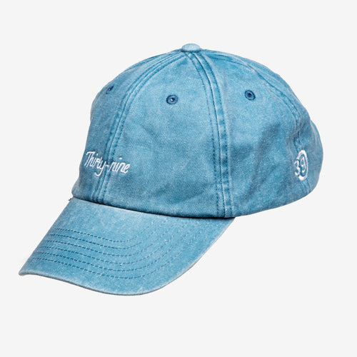 Thirty-nine cap lichtblauw vintage