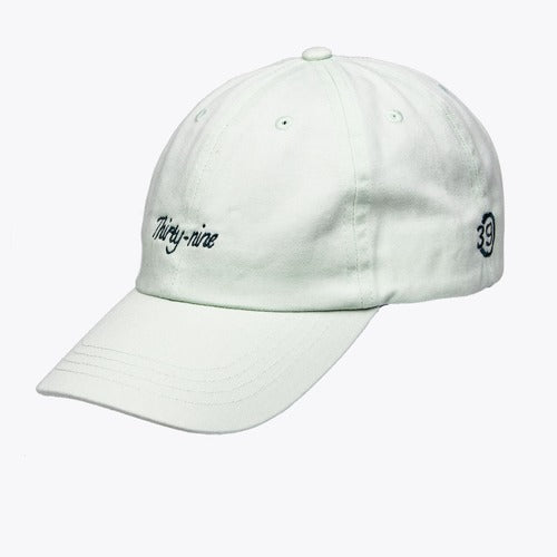Thirty-nine cap mintgroen Panel Dad Cap