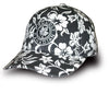 Proudly Canadian Black Floral Cap