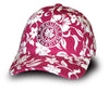 Proudly Canadian Burgundy Floral Cap